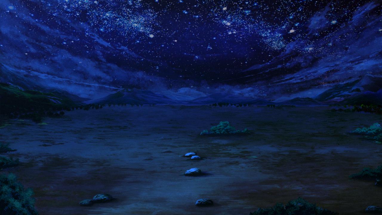 戦力拡充計画の夜空